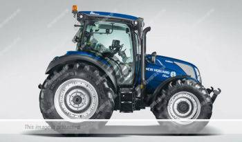 New Holland T5.120 AC. Serie T5 Auto Command lleno