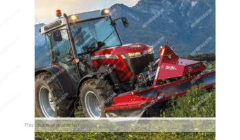 Massey Ferguson MF 3709 WF. Serie MF 3700 WF lleno