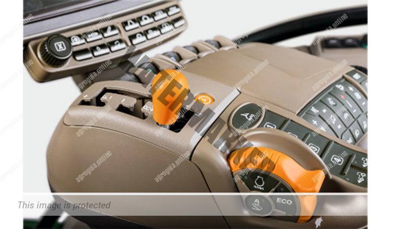 John Deere 8RX 370. Serie 8RX G2 lleno