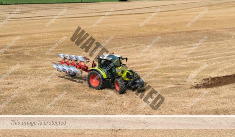 Claas Arion 420. Serie Arion 400 lleno