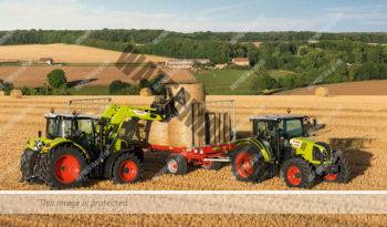 Claas Arion 410. Serie Arion 400 lleno