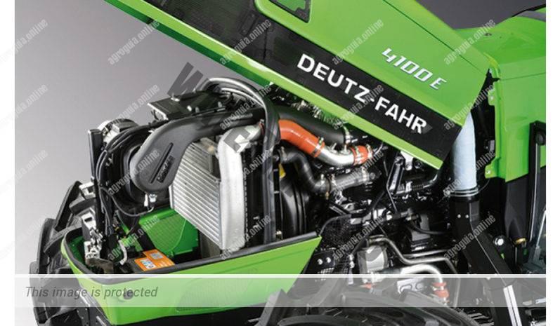 Deutz-Fahr 4100 E. Serie 4E lleno