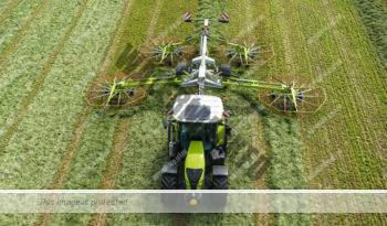 Claas Arion 650. Serie Arion 600 lleno
