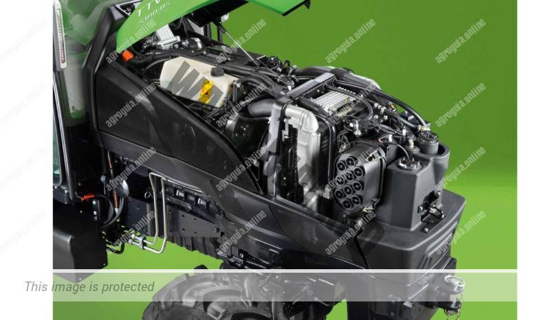 Deutz-Fahr 5105D TTV S. Serie 5D TTV S lleno