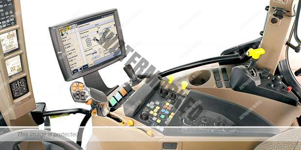 Case IH 150 CVX. Serie Maxxum CVX lleno