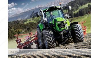 Deutz-Fahr 6205. Serie Agrotron 6.6 lleno