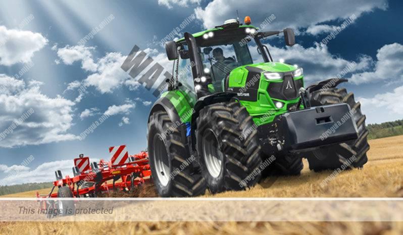 Deutz-Fahr 7230. Serie Agrotron 7 TTV lleno