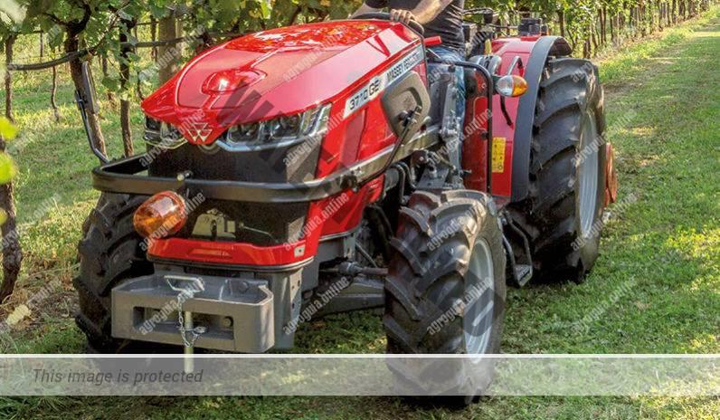 Massey Ferguson 3709 F. Serie MF 3700 F lleno