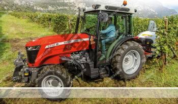 Massey Ferguson 3707 S. Serie MF 3700 S lleno