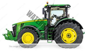 John Deere 8345 R. Serie 8R lleno