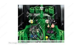John Deere 6195 R. Serie 6R lleno