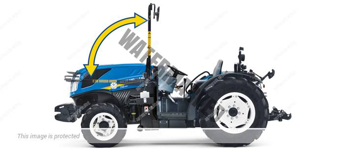New Holland T4. 80 F B. Serie T4 F Bassotto lleno
