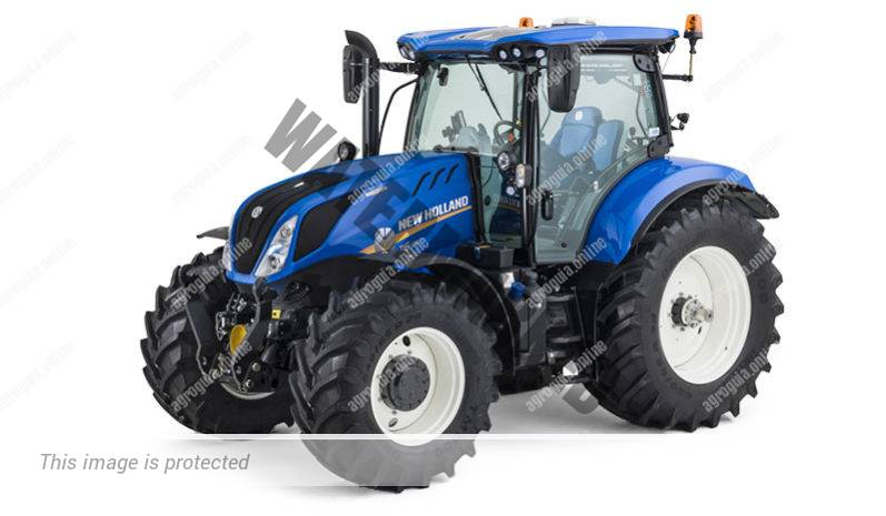 New Holland T6.180. Serie T6 4B lleno