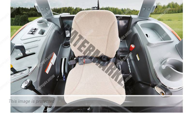 Kioti RX 6330. Serie RX lleno