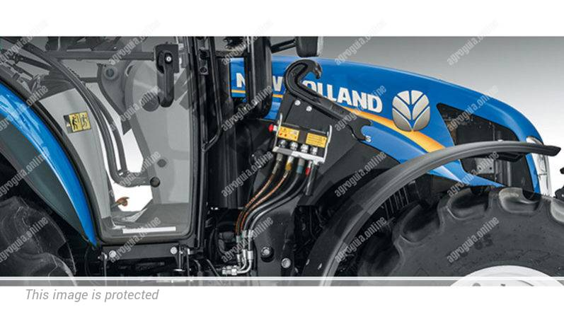 New Holland T5. 95. Serie T5 Utility lleno