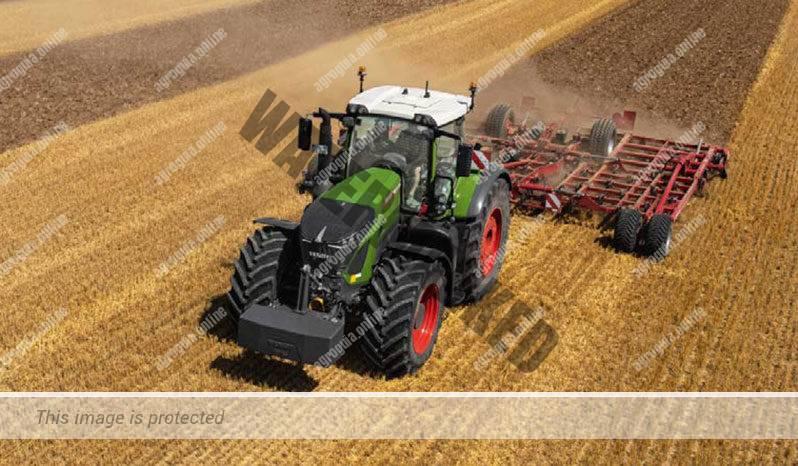 Fendt 936 Vario G6. Serie 900 Vario G6 lleno