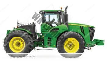 John Deere 9570 R. Serie 9R lleno