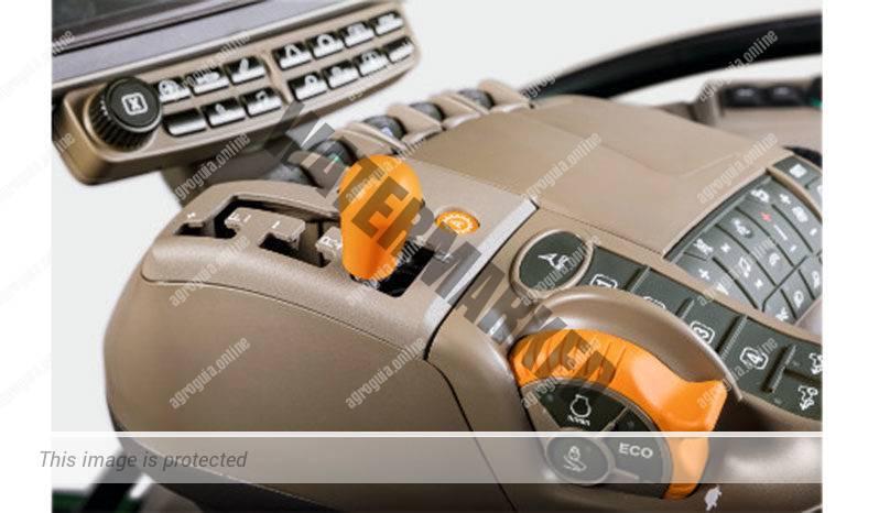 John Deere 8RX 410. Serie 8RX G2 lleno