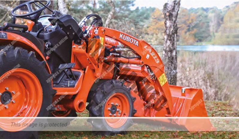 Kubota B 1181. Serie B1 lleno