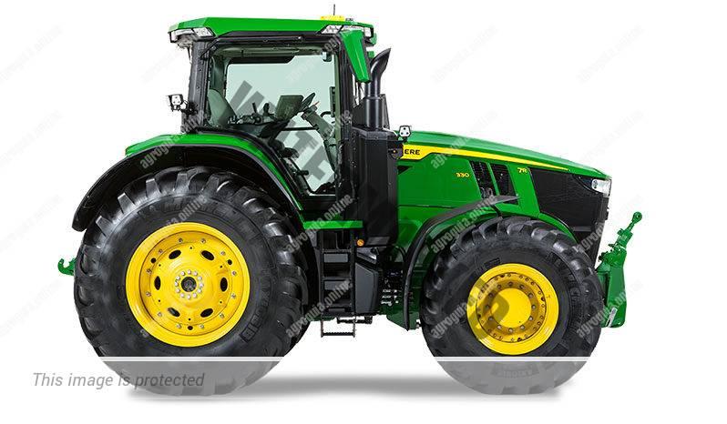 John Deere 7R 210 G2 Fase V. Serie 7R G2 Fase V lleno
