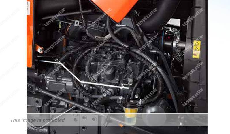 Kubota L 1361. Serie L1 lleno