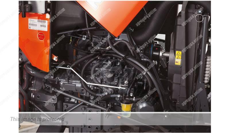 Kubota L 2421. Serie L2 lleno