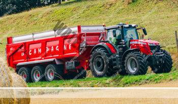Massey Ferguson MF 8727. Serie MF 8700 lleno