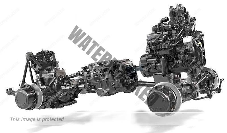 JCB Fastrac 8330. Serie Fastrac 8000 lleno