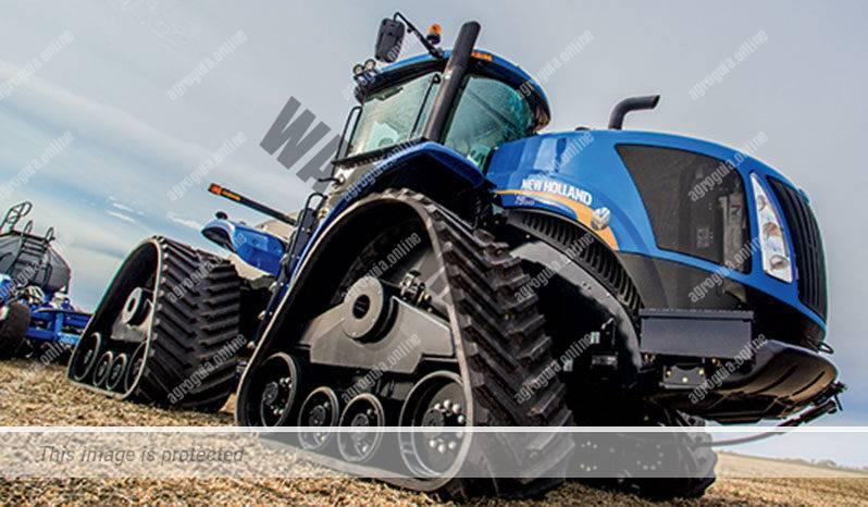 New Holland T9.600. Serie T9 lleno