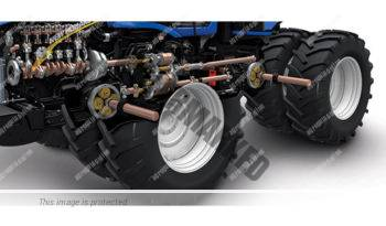 New Holland T9.530. Serie T9 lleno