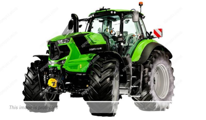 Deutz-Fahr 8280 TTV. Serie Agrotron 8 TTV lleno
