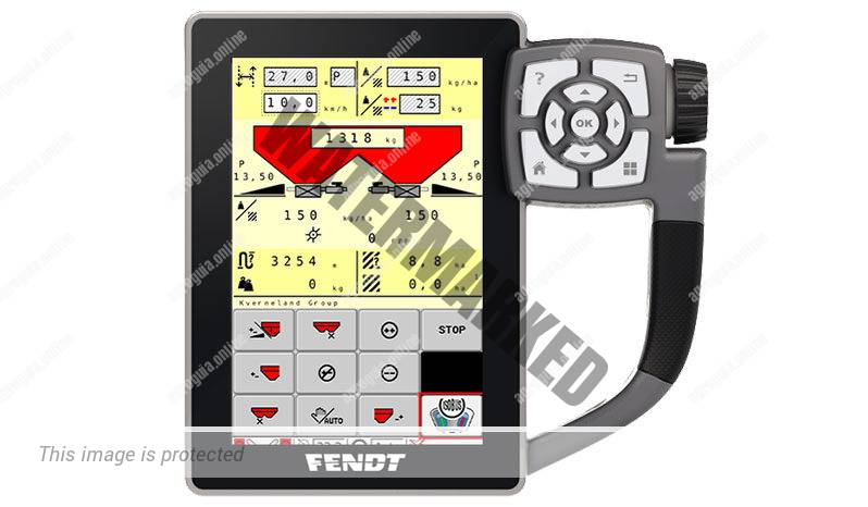 Fendt 312 Vario G4. Serie 300 Vario G4 lleno