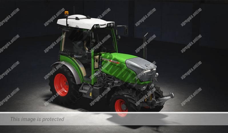 Fendt 210 P Vario G3. Serie 200 P Vario G3 lleno