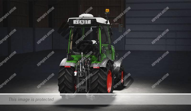 Fendt 209 F Vario G3. Serie 200 F Vario G3 lleno