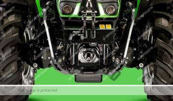 Deutz Fahr 5100.4 D TTV. Serie 5D TTV lleno