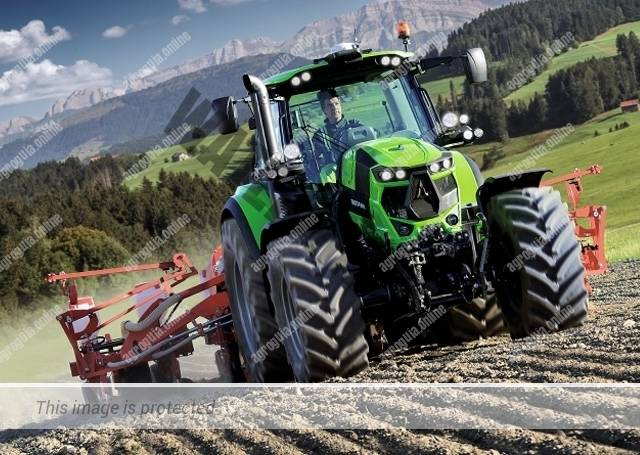 Deutz-Fahr Agrotron 6155 Fase V. Serie Agrotron 6.6 Fase V lleno