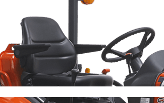 Kioti CX 2510. Serie CX 10 lleno