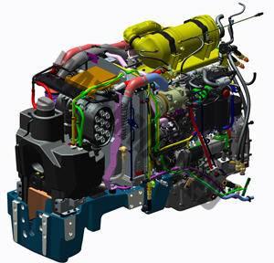 John Deere 5115 GV Fase V. Serie 5GV Fase V lleno