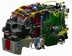 John Deere 5075 GL Fase V. Serie 5GL Fase V lleno